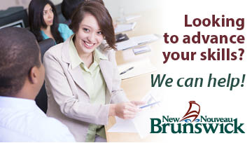 New Brunswick Post-secondary education training and labour - Skills
